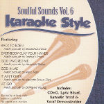 Karaoke Style: Soulful Sounds, Vol. 6