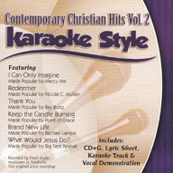 Karaoke Style: Contemporary Christian Hits, Vol. 2