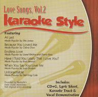 Karaoke Style: Love Songs, Vol. 2