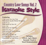 Karaoke Style: Country Love Songs, Vol. 2