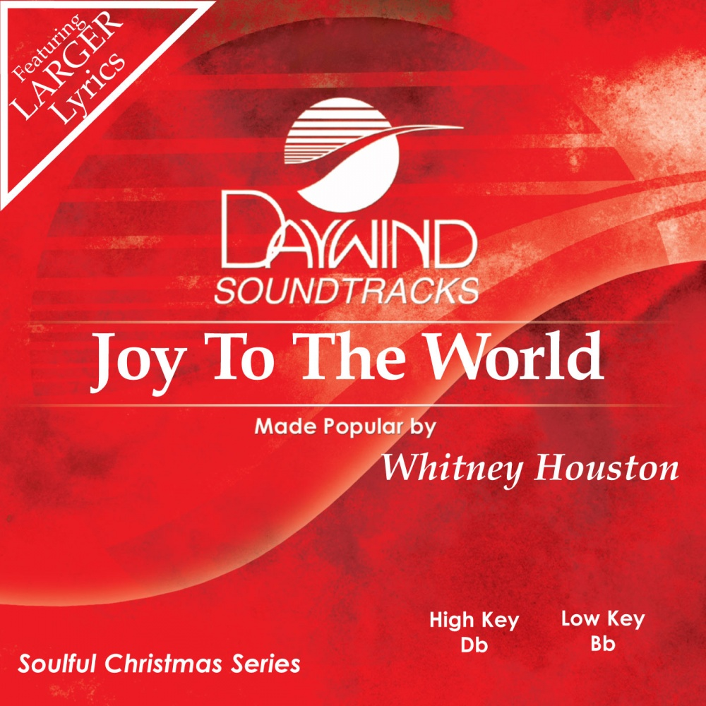 Joy To The World - Whitney Houston (Christian Accompaniment Tracks ...