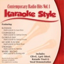 Karaoke Style: Contemporary Radio Hits, Vol. 1
