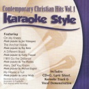 Karaoke Style: Contemporary Christian Hits, Vol. 1 image