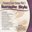 Karaoke Style: Country Love Songs, Vol. 1 image