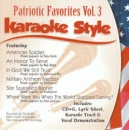 Karaoke Style: Patriotic Favorites, Vol. 3 image