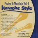 Karaoke Style: Praise and Worship, Vol. 4 image