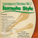 Karaoke Style: Contemporary Christmas, Vol. 3