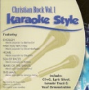 Karaoke Style: Christian Rock, Vol. 1