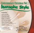 Karaoke Style: Contemporary Christmas, Vol. 1 image