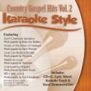 Karaoke Style: Country Gospel Hits, Vol. 2