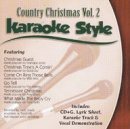 Karaoke Style: Country Christmas, Vol. 2