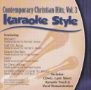 Karaoke Style: Contemporary Christian Hits, Vol. 3 image