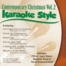 Karaoke Style: Contemporary Christmas, Vol. 2 image
