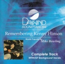 Remembering Kenny Hinson (Complete Track)