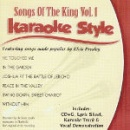 Karaoke Style: Songs of The King, Vol. 1 image