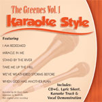 Karaoke Style: The Greenes, Vol. 1